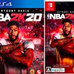 【究極進化】八村塁も参戦NBA2K20おすすめバスケットボールゲーム(ニンテンドースイッチ/PS4)